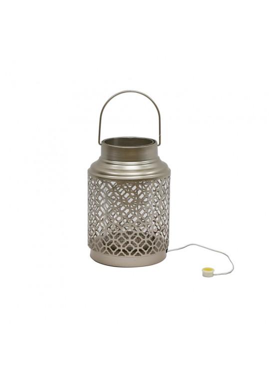 Amber Lantern- Gold