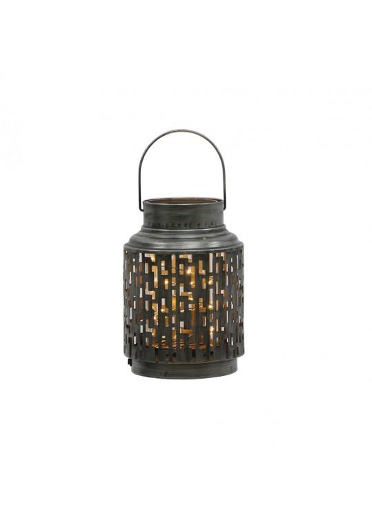 Amber Lantern- Metal