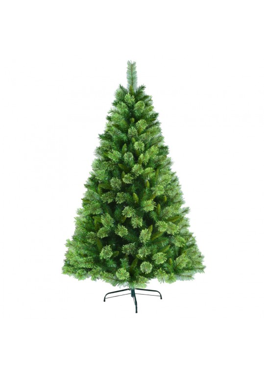 6.5 Feet. Unlite Artificial Christmas Tree With Metal Base