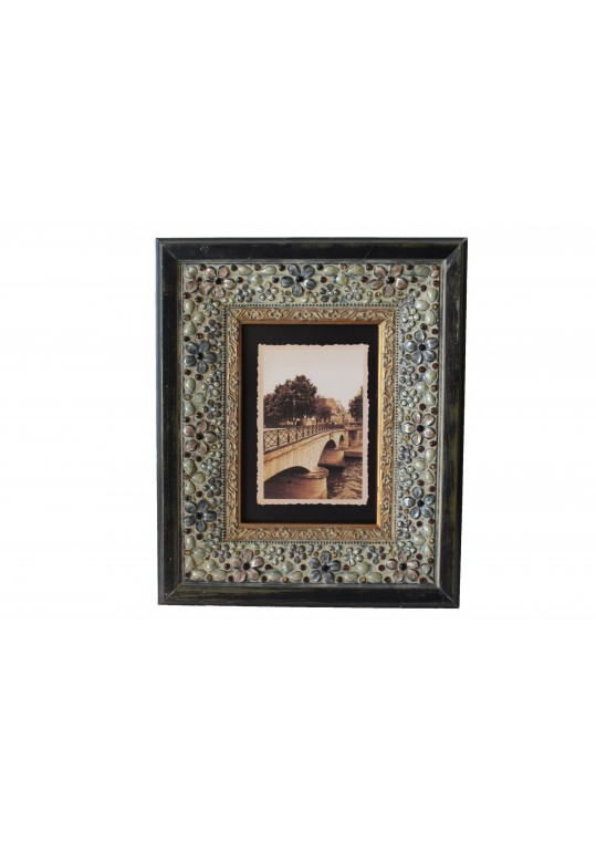 Brown 5 x 7 Inch Pattern Frame